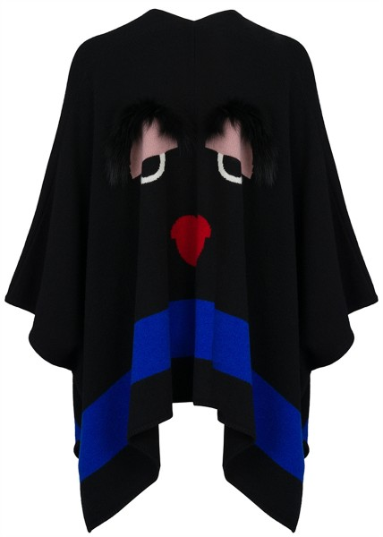 Cashmere Poncho Face off 1