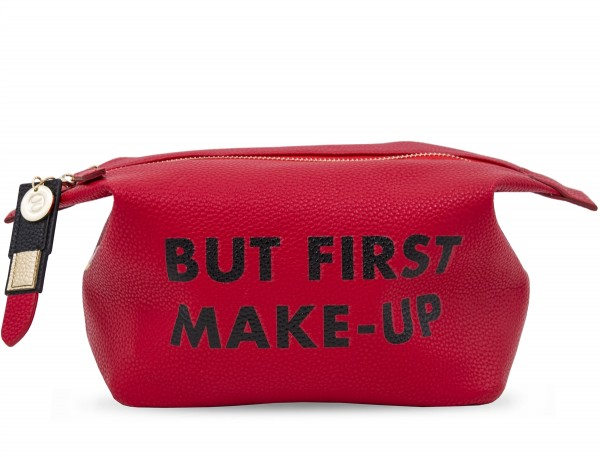 Washbag - But First Make Up Red 1