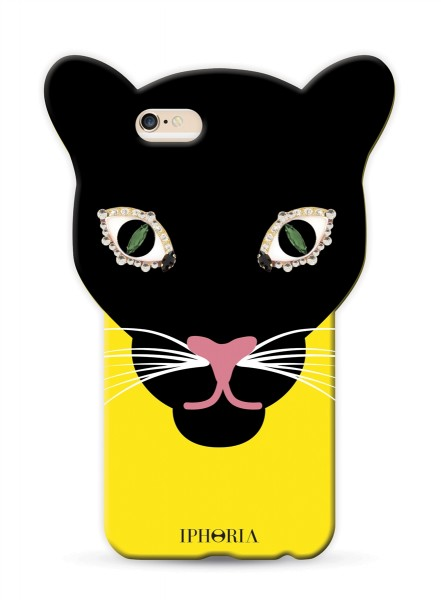 Leo Head Yellow Black für Apple iPhone 7/ 8 1