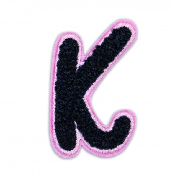 Iron On Patch Letter K 1