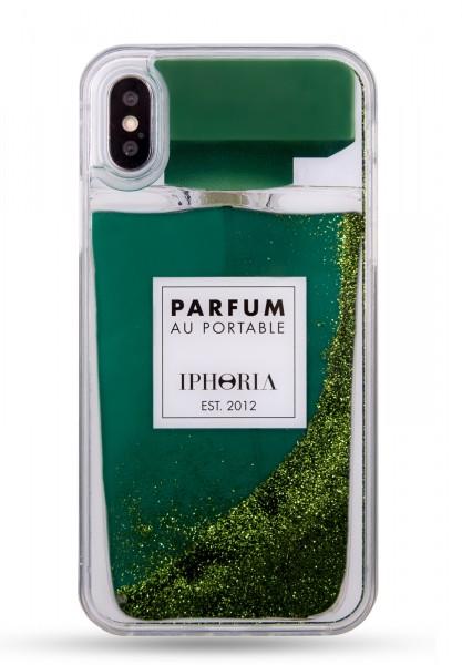 Liquid Case for Apple iPhone X/XS - Perfume Green 1