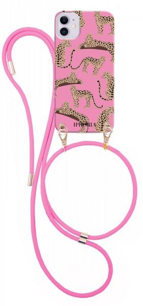 Artikelbild 1 des Artikels Necklace Case - Leopards Pink iPhone 12/ 12 Pro