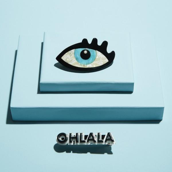 Barette 2er-Set - Nacre Eye Ohlala 1