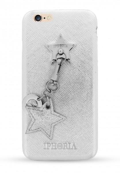 Star Lining Case Silver für Apple iPhone 6/6S/7/8 1