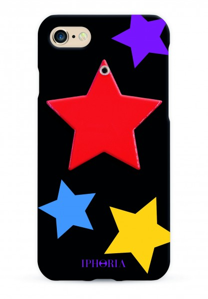 Mirror Case Red Star for iPhone 7/ 8 1