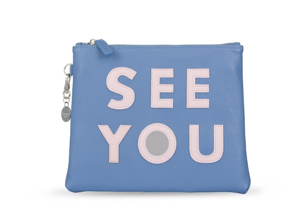 Blue Cosmetic Bag See You 1