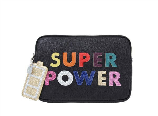Super  Power Purse schwarz incl. Powerbank 1