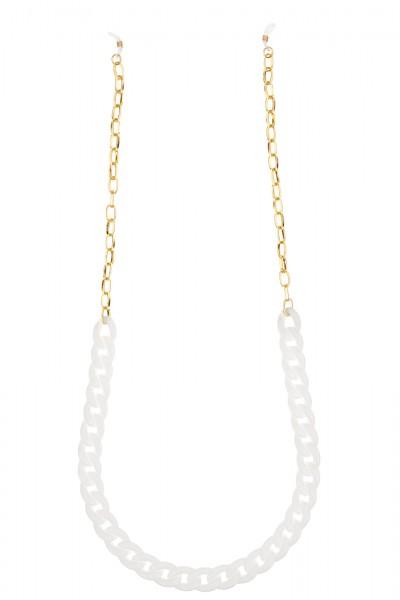 Artikelbild 1 des Artikels Glasses + Mask Strap - Gold & White