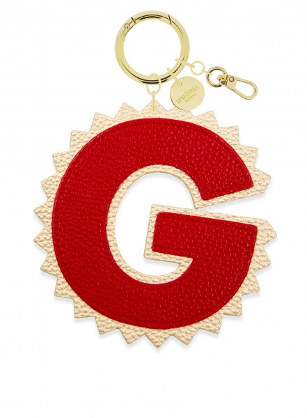 XL Bag Charm Red Letter G 1