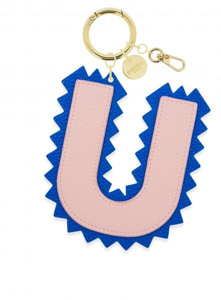 XL Bag Charm Rose Letter U 1