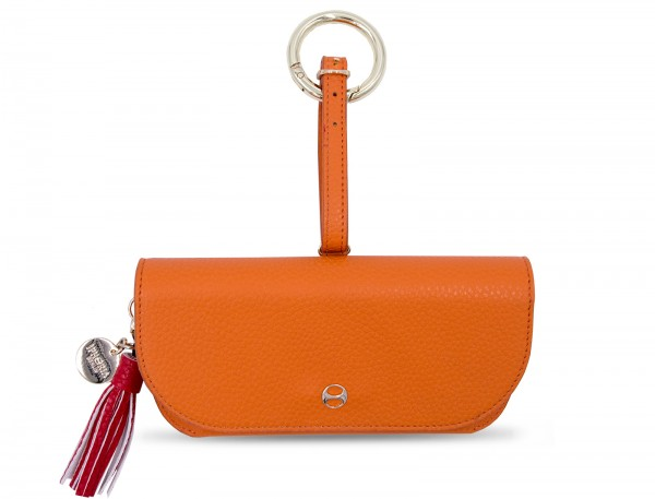 Glasses Case with Bag Holder - Orange 1