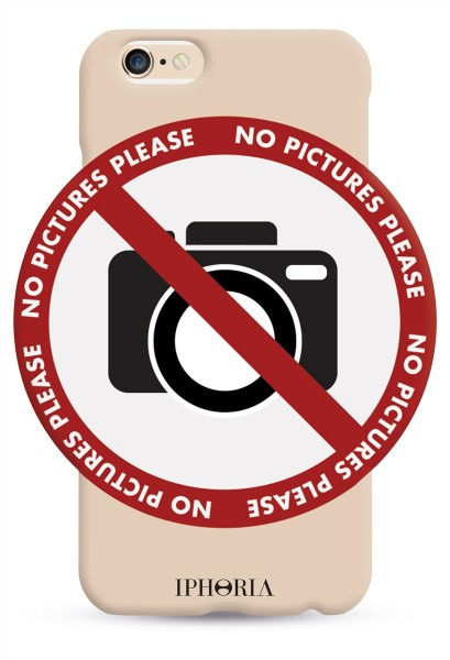 No pictures please! für iPhone 6/ 6S 1