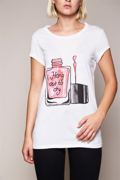 T-Shirt - Hang out to dry Size 2 1