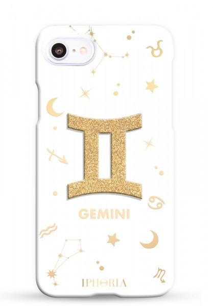3D Case for Apple iPhone 7/8 - Zodiac Gemini 1