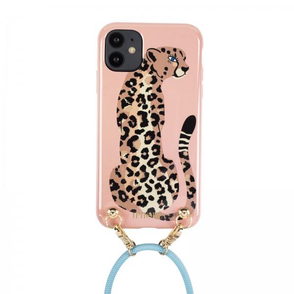 Artikelbild 1 des Artikels Necklace Case for Apple iPhone 12/ 12 Pro - Leopar