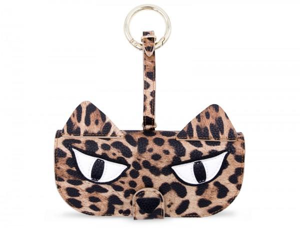 Glasses Case with Bag Holder - Grumpy Leo 1