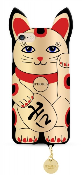 Case for Apple iPhone 7 / 8 - Golden Lucky Cat 1