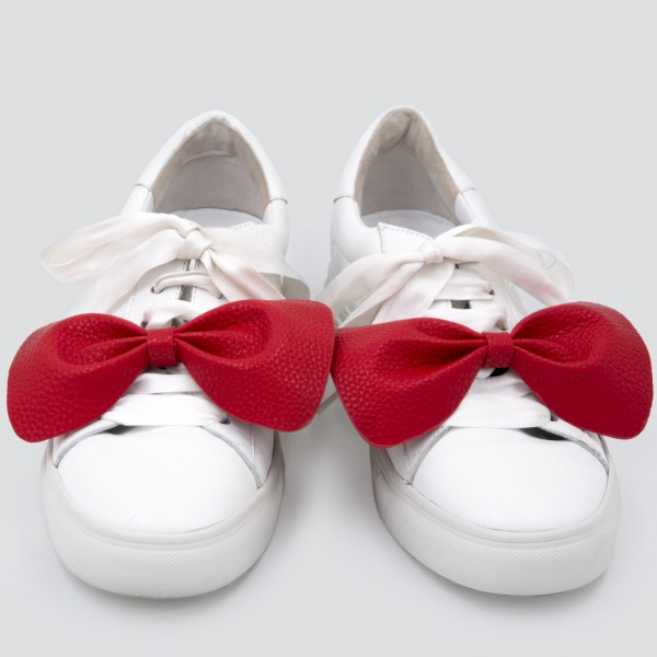Sneaker Patch Set Red Bows 1