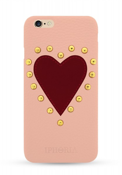 Boredeaux Heart Patch Case mit Strassteinen für Apple iPhone 6/ 6S 1