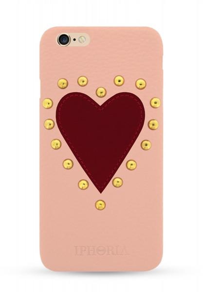 Boredeaux Heart Patch Case mit Strassteinen für Apple iPhone 6/ 6S 1