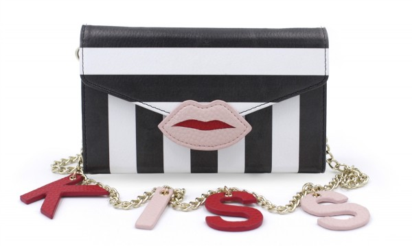 Micro Shoulder Bag Heaven Patches Stripy Kiss für Apple iPhone 6/ 6S 1