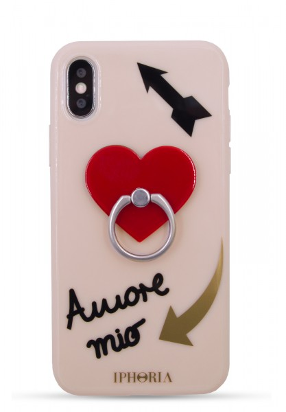 Case for Apple iPhone X/Xs - Ring Nude Amore Mio 1