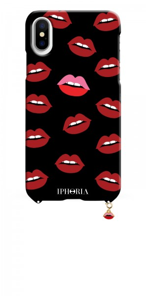 Case for Apple iPhone X/XS - Lips Red 1