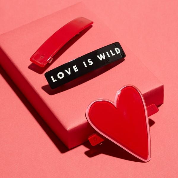 Barette 3er-Set - Love Is Wild 1