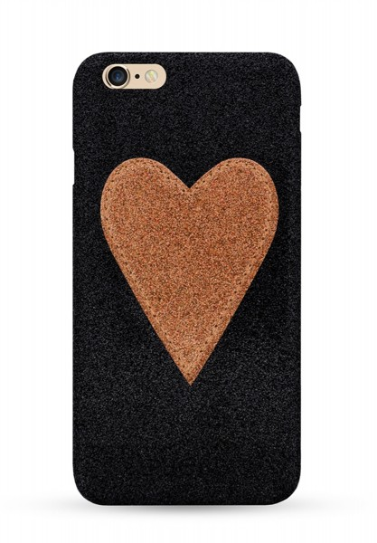 Gold Heart Patch für Apple iPhone 6/ 6S 1