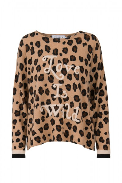 100% Cashmere Oversized Pullover - Love Is Wild Size 2 1