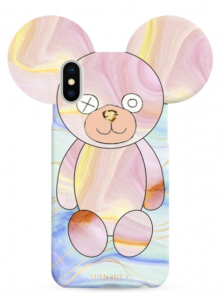 Case for Apple iPhone X/Xs - Teddy Pastell 1