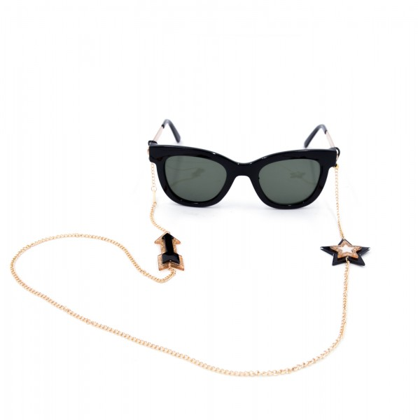 Glasses Strap gold plated - Star & Arrow 1