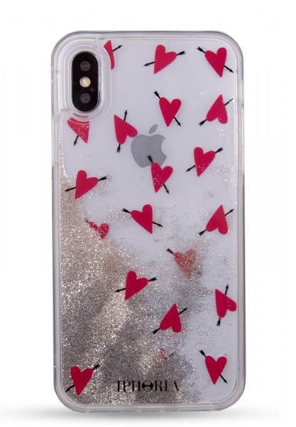 Liquid Case for Apple iPhone X/XS - Amore Transparent 1