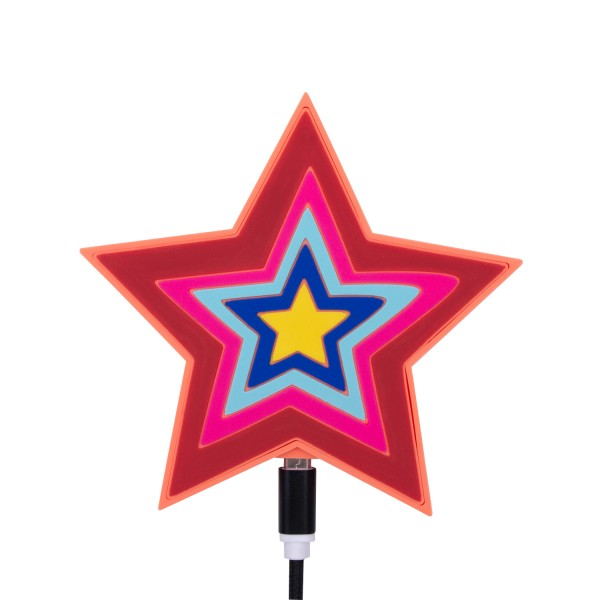Artikelbild 1 des Artikels QI Wireless Charger - Colorful Star