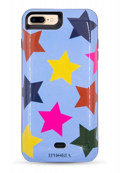 Power Case for iPhone 7+/8+ - Multicolour Stars 1