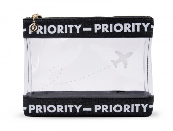 Inflight Bag - Priority Black White 1