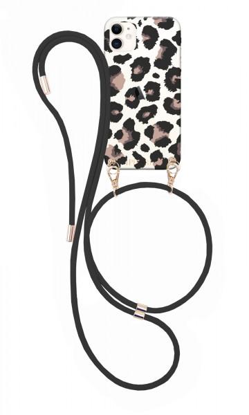 Artikelbild 1 des Artikels Necklace Case + Black Cord - Leo Transparent iPhon
