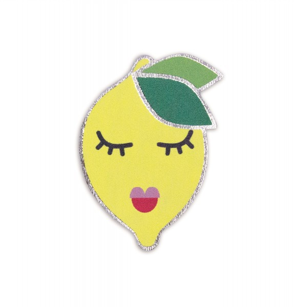 Ledersticker Lemon 1