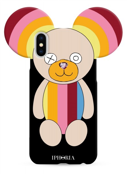 Case for Apple iPhone X/XS - Teddy Rainbow 1