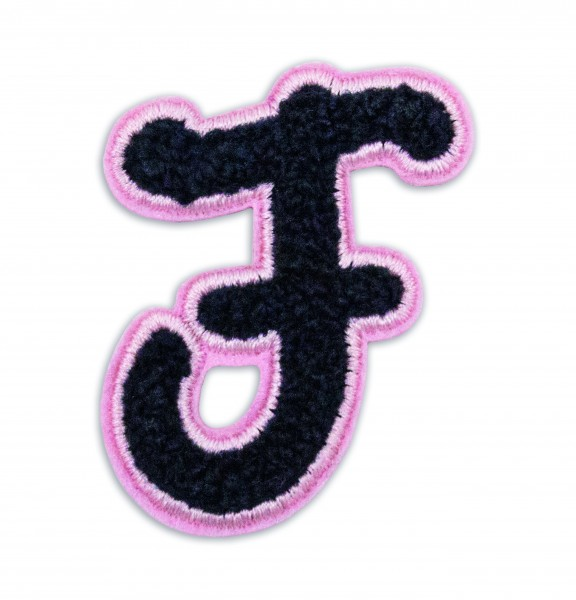 Iron On Patch Letter F 1