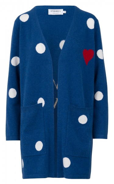 100% Cashmere Cardigan - I'm A Lover - Size 1 1