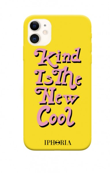Artikelbild 1 des Artikels Classic Case - Kind is the new Cool Yellow iPhone