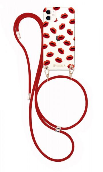 Artikelbild 1 des Artikels Necklace Case - Transparent Lips iPhone 12/ 12 Pro