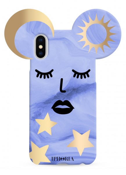 Case for Apple iPhone X/Xs - Teddy Blue Sky  1
