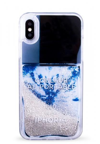 Liquid Case for Apple iPhone 7/8 - Tie Dye Nailpolish 1