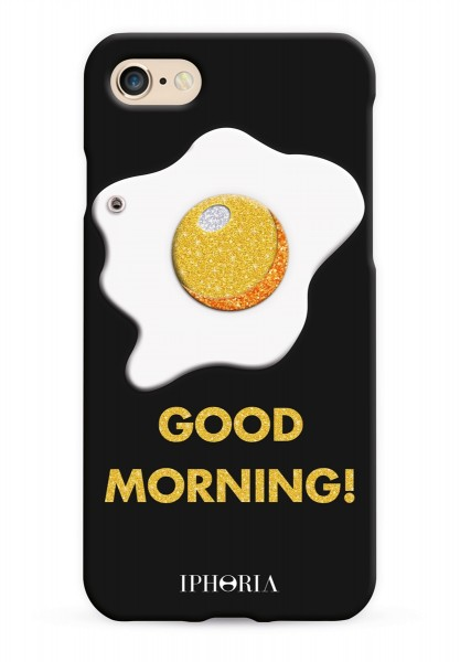 Case with Mirror for Apple iPhone 7/8 - Good Morning Glitter 1