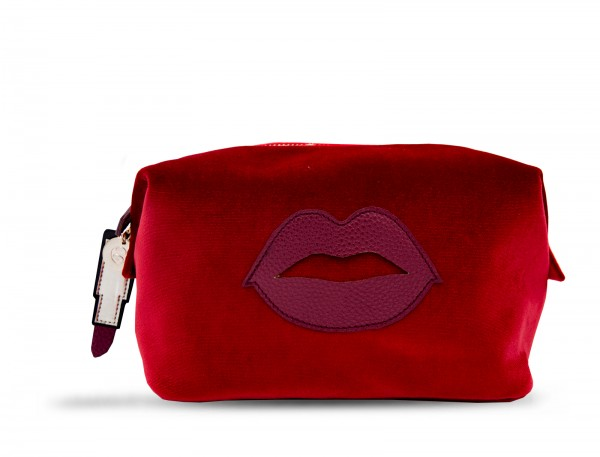 Washbag - Lip Red 1