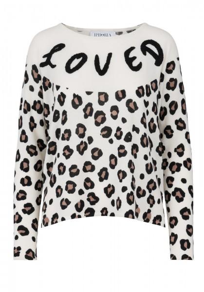 100%  Cashmere Boxy Sweater - Leo Loved - Size 1 1