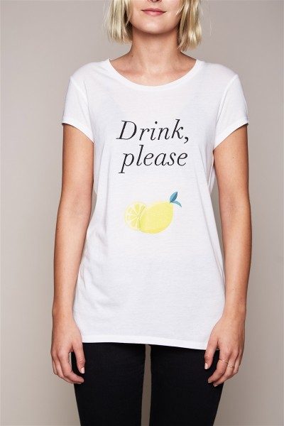 T-Shirt - Drink, please Size 1 1