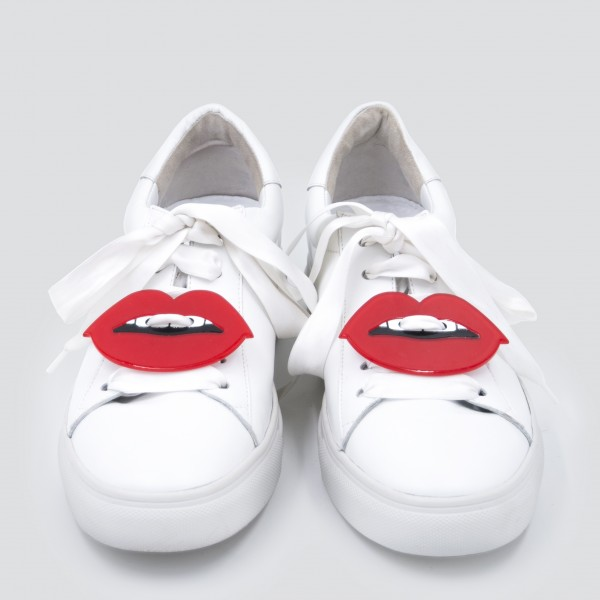 Sneaker Patch Set Red Lips 1